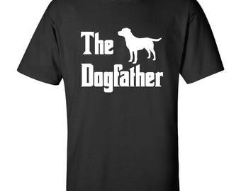 The Dogfather - Labrador Retriever T Shirt