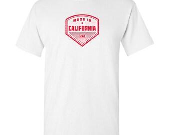 Made in California T Shirt - White
