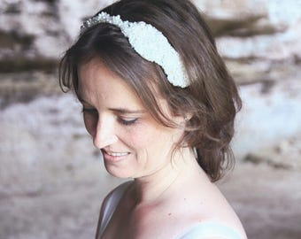 Bridal headband, bridal hairaccessory, wedding headpiece, wedding hairaccessory, wedding headband