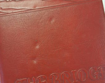 1952 The Bridge Yearbook Annual Central High School Fayetteville Tennessee TN