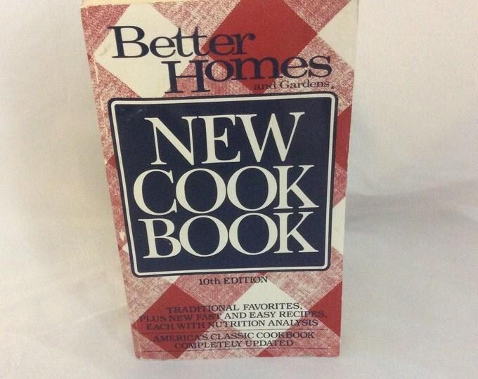 Vintage New Better Homes and Garden cookbook, 1993 cookbook, small better homes and garden cookbook,