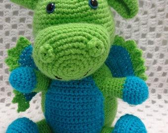 Dragon, crochet toy, boy gift, boy toy, dragon toy, amigurumi dragon, amigurumi