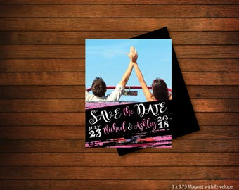 High Quality  > Save the Date Photo Magnets | Wedding Save the Dates | Personalized Photo Magnets > Envelopes Included > FREE SHIPPING