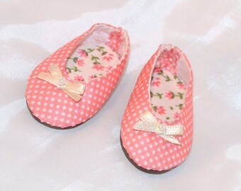 Doll Shoes - Polka. Minifee Moe BJD