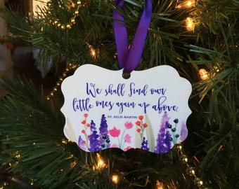 Childloss Ornament | St. Zelie Martin | Original Watercolor
