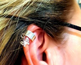 Sweet Summer Butterfly Ear Cuff Clip