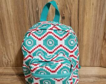 Toddler Backpack, Pre-School Backpack,Baby Backpack,Monogrammed Backpacks, Mini Backpack,Small Bag,SHIPPING INCLUDED