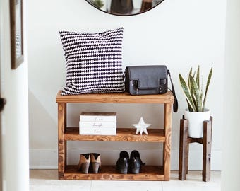 shoe rack console table entryway table