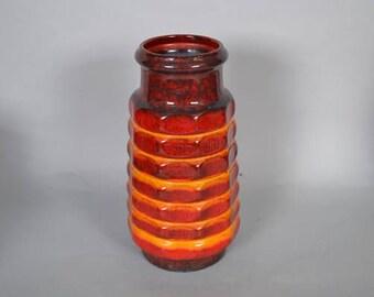 West German Jasba  Keramik vase - marked  1 566 30 - Retro