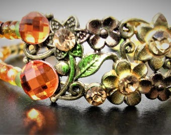 Autumn Flower bracelet