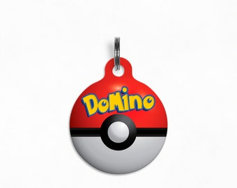 "Pet ID Tag | ""Domino"" - Pokémon Poké Ball"