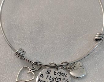 Gift for Teacher - New Teacher Gift - Favorite Teacher - Handmade Gifts - Teacher Gift from Student - Teacher Bracelet - Teacher Gift Idea