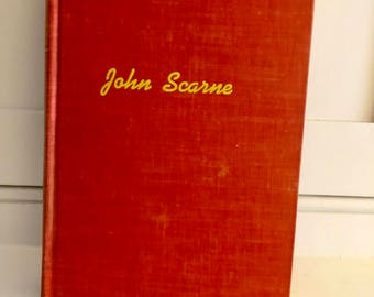 Vintage Magic Book: Scarne's Magic Tricks/ By John Scarne/ Original 1951 1st Edition/ Crown Publishers/ Magician's Estate