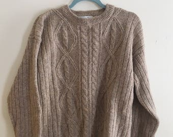 Vintage 80s Christian Dior Wool Sweater