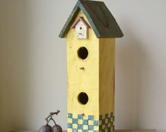Decorative Hand Painted Birdhouse