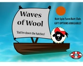 Waves of Wool - 3 Month Batt Club! (Gift options available)