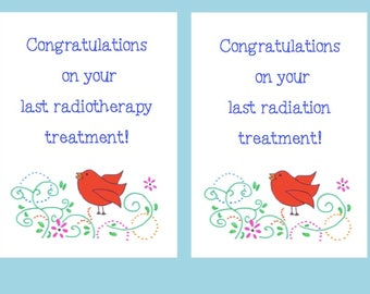 Encouragement cards etsy sg illustrated radiation radiotherapy greeting card cancer treatment encouragement card empathy card end of m4hsunfo