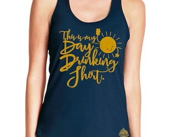 Day Drinking Craft Beer Women's Racerback Tank!
