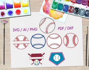 Softball svg / Softball svg files / Softball svg cut files / Softball svg files for cricut / Softball svg design / Softball svg bundle /