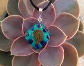 Orgone Pendant - Lapis Lazuli - Third Eye Chakra Healing  - Metaphysical Healing Lightworker Jewelry - Orgone Energy - Small