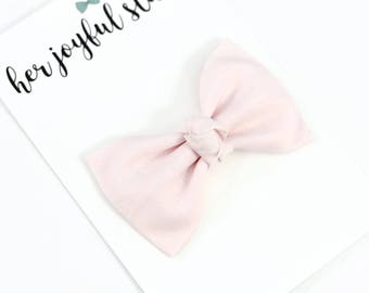 Pink Baby Girl Bows, Pink Valentine Bow, Pink Hair Bows, Infant Headband, New born Headband, Simple Baby Bows, Baby Girl Bows, BALLET