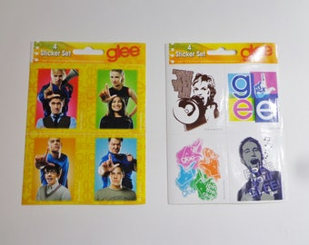 Collectible Official Glee Glossy Stickers Decals Gleek Destash Sale! New Colorful Party Favors Collectible Gifts