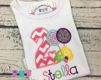 Candy 1st Birthday Shirt - 1st Birthday Candy Outfit - 2nd Birthday Candy Shirt - Lollipop Birthday Outfit  - Candy first Birthday outfit