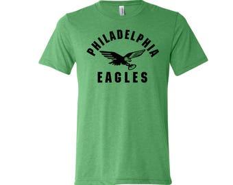 Philadelphia eagles etsy for Eagles football t shirts