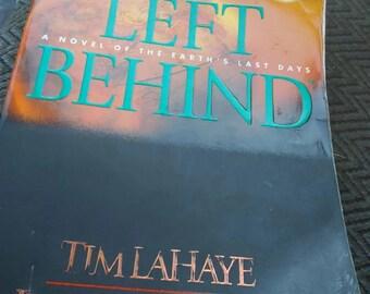 Left behind paperback book