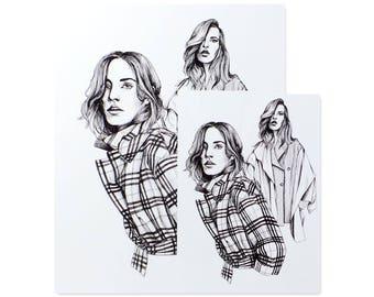 Stylist Issue 302 I / Art Print / Fashion Illustration / Style Illustration