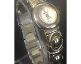 Vintage Iri Zeemex watch with mother of pearl dial face