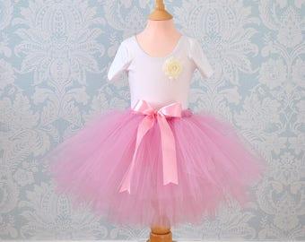 Tutu Skirt, Tutu, Girls Tutu, Flower Girl Tutu, Girls Tutu Dress, Long Tutu, Tulle Skirt, Wedding Tutu, Grey Tutu, Bridesmaid Tutu, Tutu