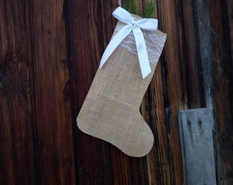 Christmas Stockings, Rustic Christmas Stockings, Burlap Christmas Stocking, Cartoon Christmas Stockings, Christmas Decorations 18