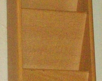 Wood Slotted Mail Box ~ Was 24.99 ~ Now Just 5.00!