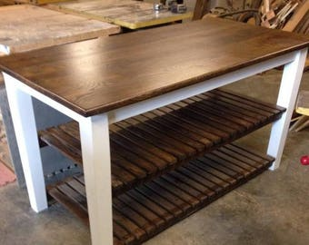 kitchen island with open shelves rustic kitchen islands shabby chic wood kitchen island