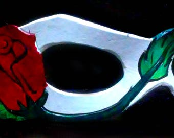 Leather Rose Domino