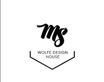 Premade Logo Design Customized