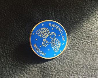 Ravenclaw Harry Potter Enamel Pin (Harry Potter, Ravenclaw, Wisdom, Ravenclaw pin, Hogwarts pin, Hogwarts Harry Potter)