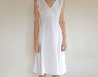 Linen Party Dress