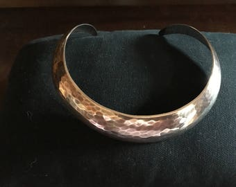 Stigbert 925 Sliver Statement Collar Estate Jewelry Signed