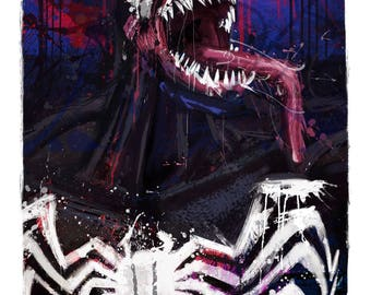 """NEW Venom Art Canvas, in sizes 16x24"""" and 20x30"""""""