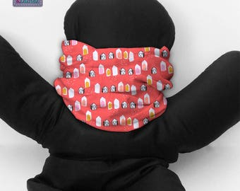Tube neck warmer for kids or adults. B_142