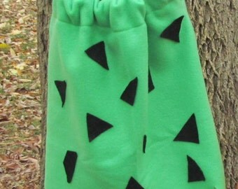 Pebbles Inspired Halloween Costume - Green Dress