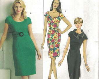 Butterick B5277  Misses Dress and Belt sz 14-22 ~~~FREE SHIPPING (USA only)
