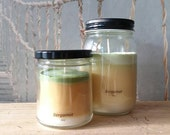 Bergamot - Soy Candle - Hand Poured Scented Natural Soy Wax - available sizes, 6 oz and 11 oz - Handmade in Baltimore MD
