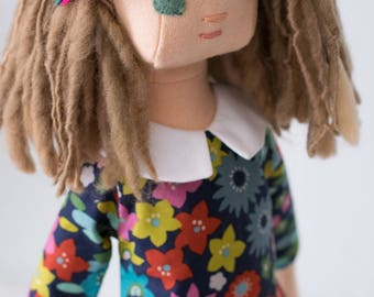 Rag Doll with Wardrobe and Accessories