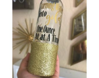 Turning Water into Gold One Ounce at A Time/ Breastfeeding/ Baby Shower Gift