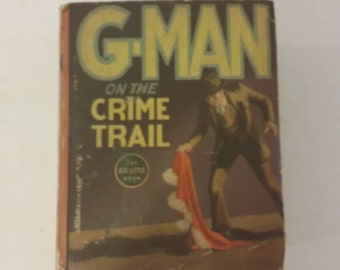 Big Little Book, G-man on the Crime Trail, 1936