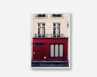 Paris Print, Photography, Wall Art, Photographic Print, Building Photography, Paris Art, Home Decor, Burgundy Art, Print, Art, Paris