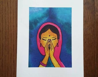 Namaste (Limited Edition Art Print)